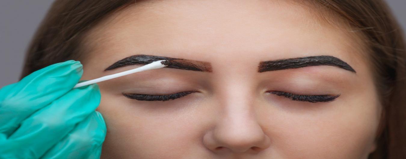 Eyebrow dye / Eyelash Tint in High Street Kensington